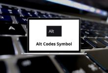 Alt Codes Symbol