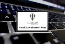 CorelDraw Shortcut keys