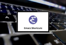 Emacs Shortcuts for Linux