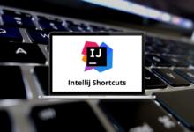 Intellij Shortcuts for Windows & Mac