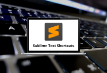 Sublime Text Shortcuts for Windows & Mac