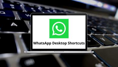 WhatsApp Desktop Shortcuts
