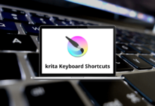 krita Shortcuts for Windows