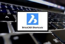 BricsCAD Shortcuts for Windows & Mac