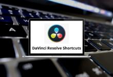 DaVinci Resolve Shortcuts for Windows & Mac