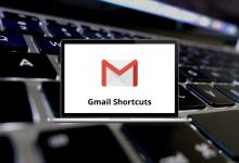Gmail Shortcuts for Win & Mac