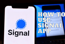 How to use Signal App