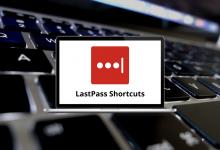 LastPass Shortcuts