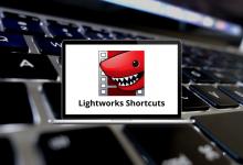 Lightworks Shortcuts