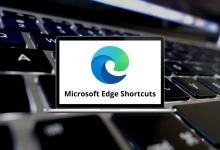 Microsoft Edge Shortcuts