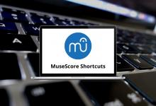 MuseScore Shortcuts
