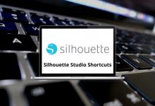 Silhouette Studio Shortcuts for Windows & Mac