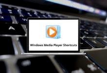 Windows Media Player Shortcuts