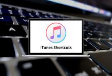 iTunes Shortcuts for Win & Mac