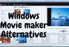 Alternatives to Windows Movie Maker