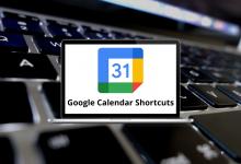 Google Calendar Shortcuts