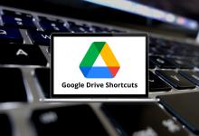 Google Drive Shortcuts