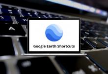 Google Earth Shortcuts