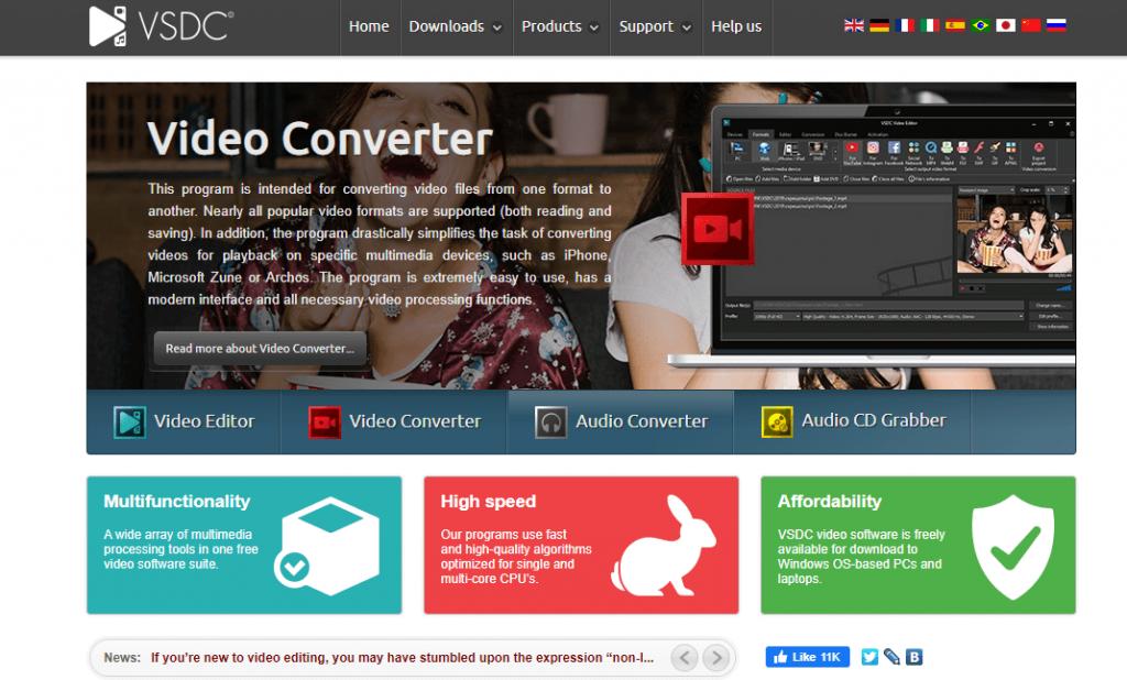 VSDC Video Editor_Alternatives to Windows Movie Maker