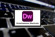 Adobe Dreamweaver Shortcuts