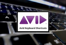Avid Keyboard Shortcuts