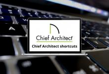 Chief Architect shortcuts