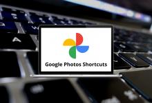 Google Photos Shortcuts