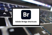 Adobe Bridge Shortcuts