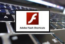 Adobe Flash Shortcuts