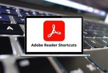 Adobe Reader Shortcuts