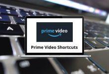 Amazon Prime Video Shortcuts