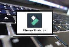 Filmora Shortcuts