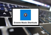 Groove Music Shortcuts