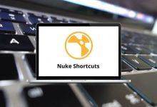 Nuke Shortcuts