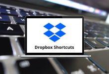 Dropbox Shortcuts