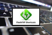 FlashFXP Shortcuts