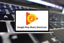 Google Play Music Shortcuts