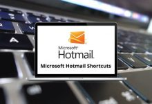 Microsoft Hotmail Shortcuts