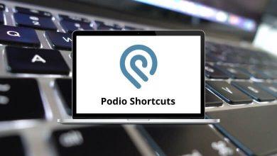 Podio Shortcuts