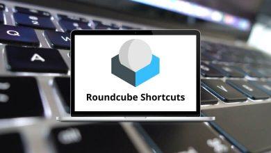Roundcube Shortcuts