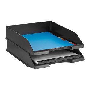 Basics Stackable Office Letter Trays