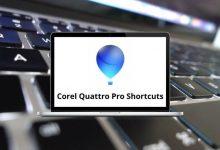 Corel Quattro Pro Shortcuts